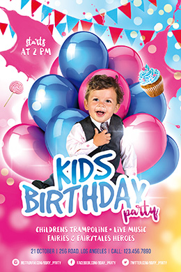 free birthday flyer template photoshop ; 9b0048d45d64e0eb6678f56b34f97e7f