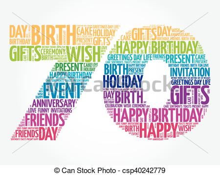 free clipart 70 birthday ; happy-70th-birthday-word-cloud-image_csp40242779