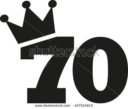 free clipart 70 birthday ; stock-vector--th-birthday-number-crown-457524613