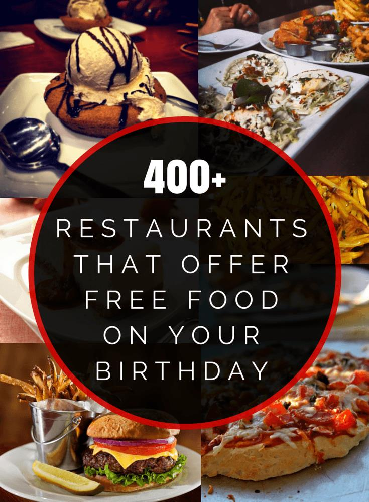 free food on your birthday ; Birthday-Freebies-1