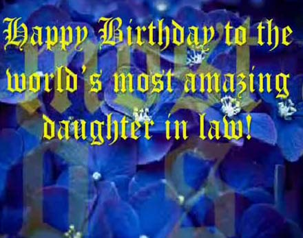 free happy birthday wish to daughter n law ; 307512_pc