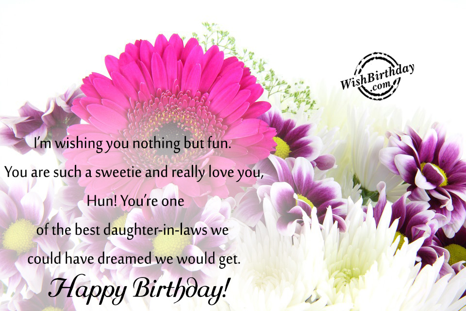 free happy birthday wish to daughter n law ; I-Am-Wishing-You-Nothing-But-Fun-wb61