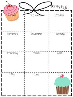 free office birthday list template ; bc9474e9173b841cd07db7ef740a8f9e--birthday-calendar-classroom-classroom-teacher
