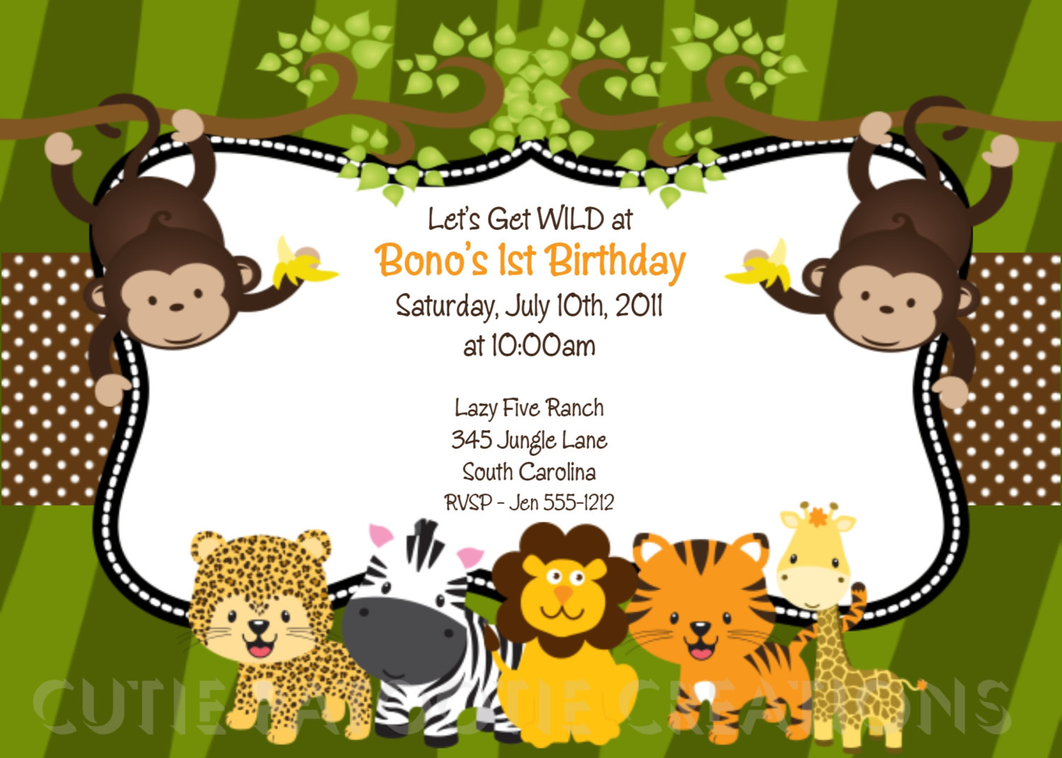 free printable animal birthday invitations ; jungle-animal-birthday-invitation_jungle-animal-birthday-invi-on-jungle-babies-free-printable-invitations-is-it-for-parties