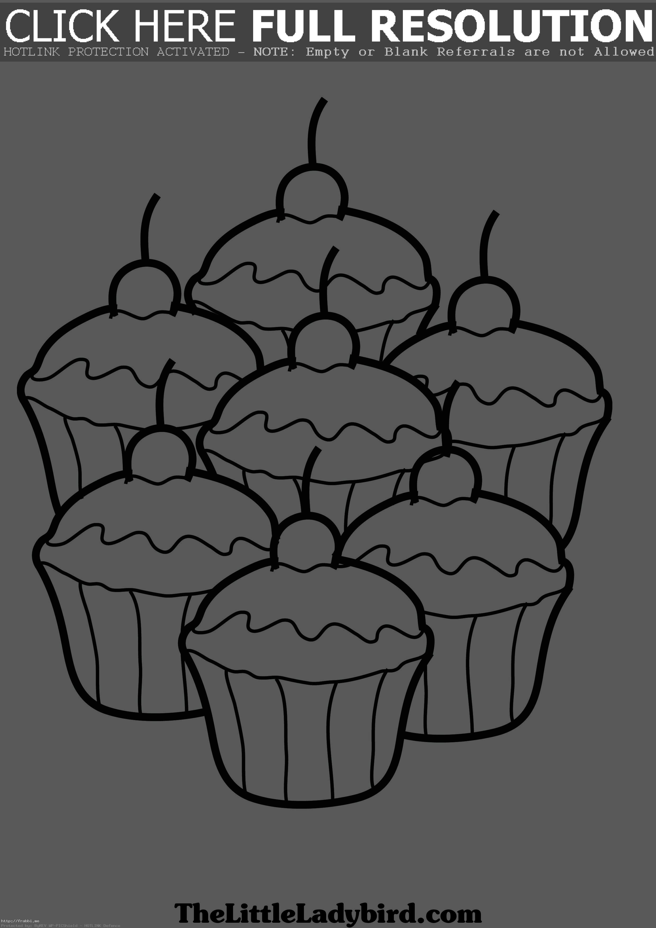 free printable birthday cupcake coloring pages ; cupcake-coloring-pages-free-cup-cake-pinterest-ribsvigyapan-of-cakes-to-print-page