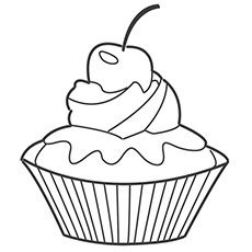 free printable birthday cupcake coloring pages ; cupcake-coloring14