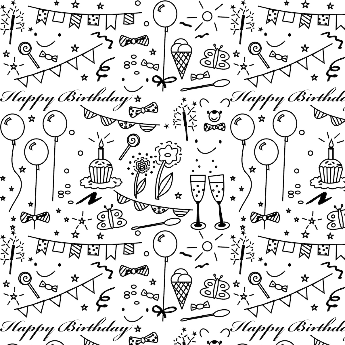 free printable birthday wrapping paper ; digital_birthday_paper