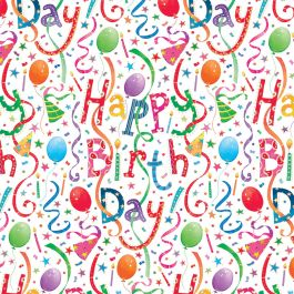 free printable birthday wrapping paper ; g8823