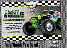 free printable grave digger birthday invitations ; 55061788611992d5952cb748a8d3ecda--monster-truck-party-rd-birthday