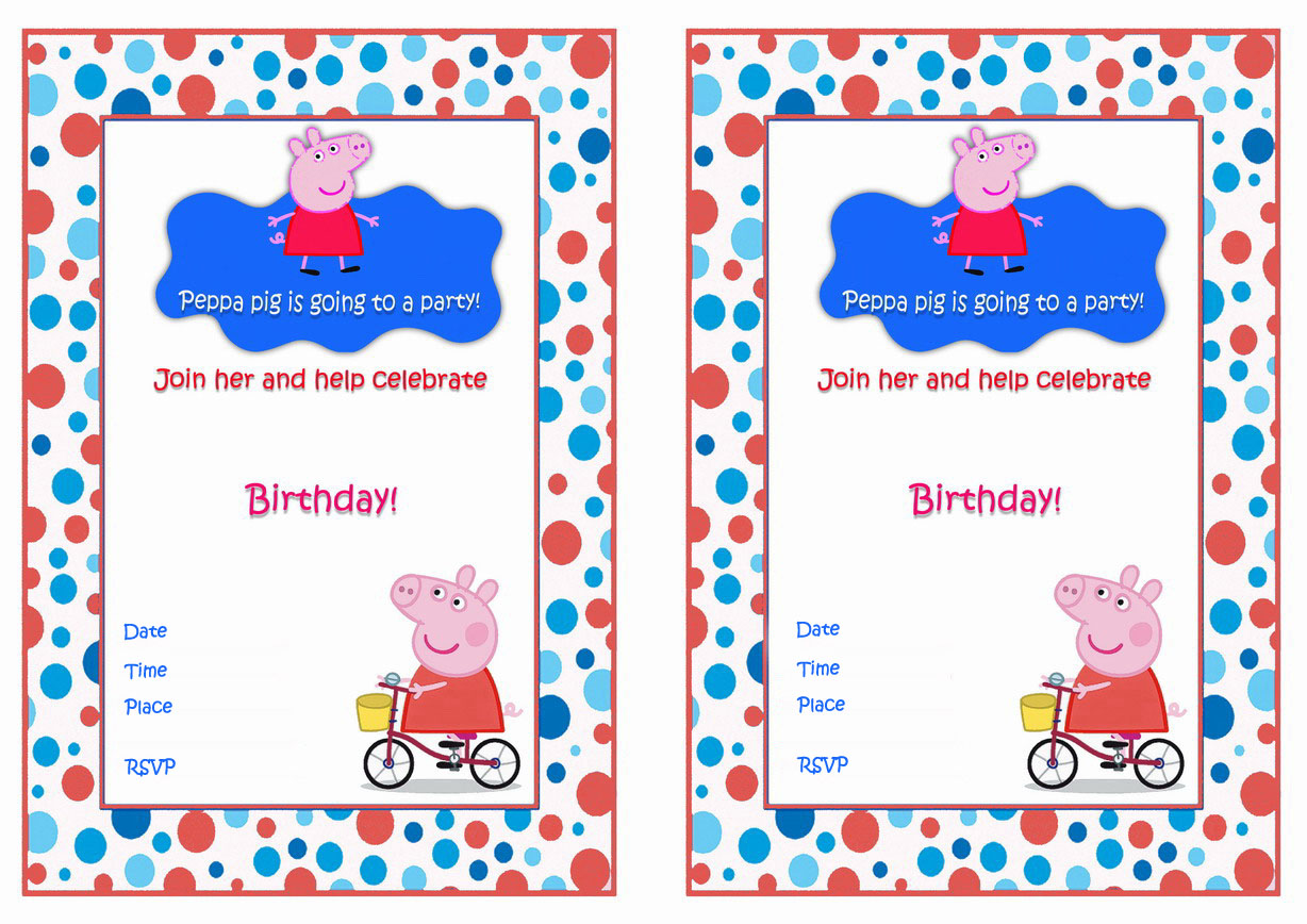 free printable peppa pig birthday invitations ; peppa-pig-party-invitations-printable-is-the-best-theme-to-forge-your-pretty-Party-invitations-13
