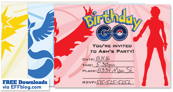 free printable pokemon birthday invitations ; Pokemon-Go-Teams-via-EFFblog