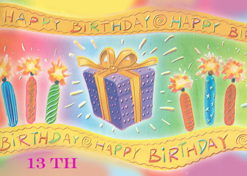 free teenage birthday cards ; Happy-13th-Birthday-Card-Template