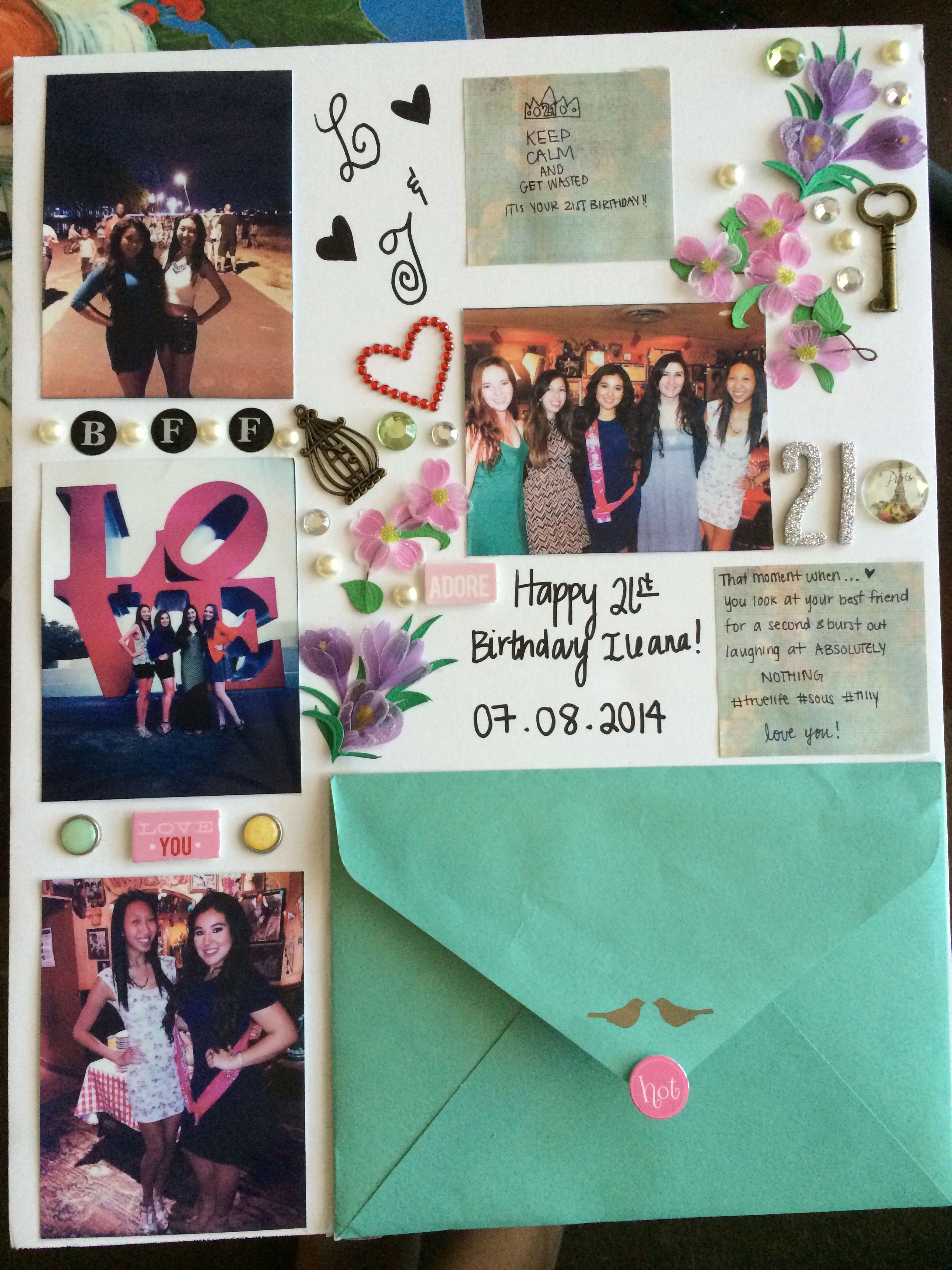 friend birthday poster ; ef9539adcc3222294a97b7d9c93208f6
