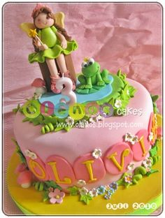 frog birthday cake template ; 28d58b6031999f23c135ee36dedda269--fairy-princesses-cake-design