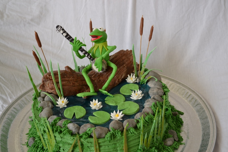 frog birthday cake template ; kermit-frog-birthday-cake_349706