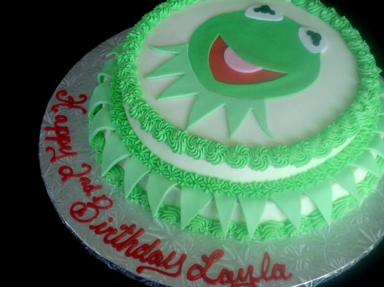 frog birthday cake template ; kermit-frog-birthday-cake_349913