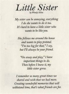 from brother to sister birthday poem ; c283caf0a38d707b8e763a771b527b2f--sister-poems-sister-quotes