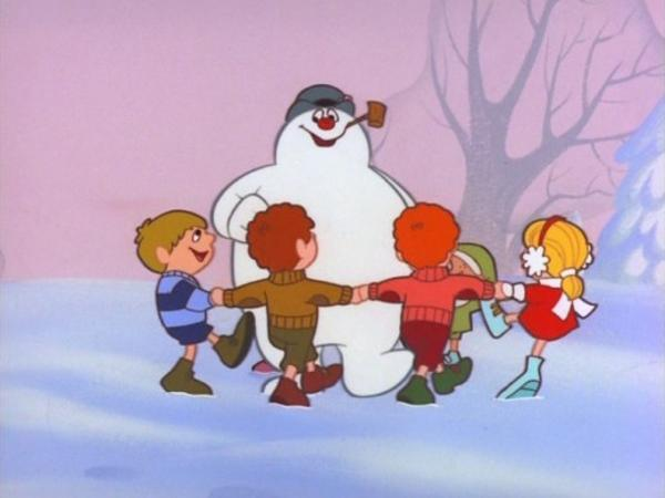 frosty the snowman saying happy birthday ; frosty-the-snowman-saying-happy-birthday