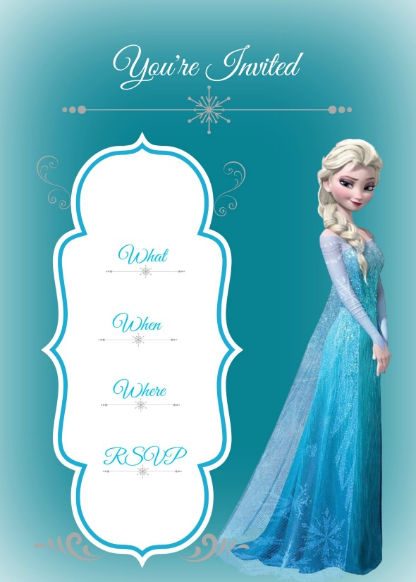 frozen birthday invitation maker ; free-frozen-birthday-invitations-and-the-invitations-of-the-Birthday-Invitation-Templates-to-the-party-sketch-with-cool-idea-17