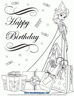 frozen happy birthday coloring pages ; 81bc68aecbfd51acd2b4d892c31ee461--kids-coloring-coloring-sheets