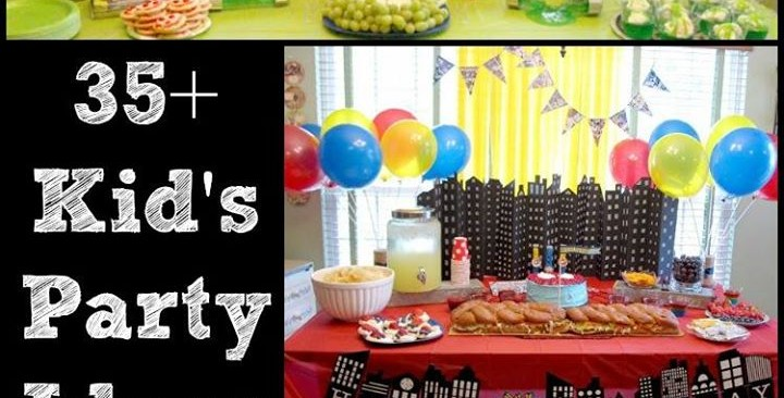 fun at home birthday party ideas ; 1961942_798097773543617_2084790477292751692_o-720x366