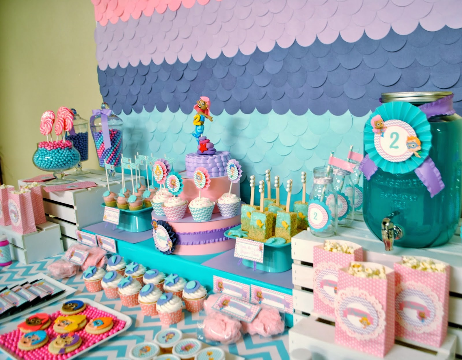 fun at home birthday party ideas ; 2nd-birthday-party-ideas-lovely-gallery-concerning-karos-fun-land-bubble-guppies-2nd-birthday-party-of-2nd-birthday-party-ideas