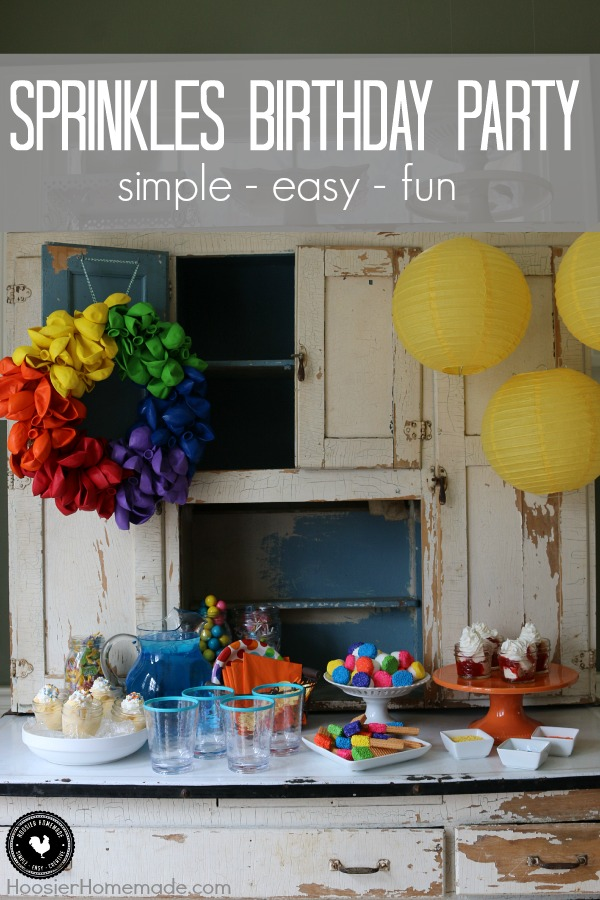fun at home birthday party ideas ; Kids-Birthday-Party