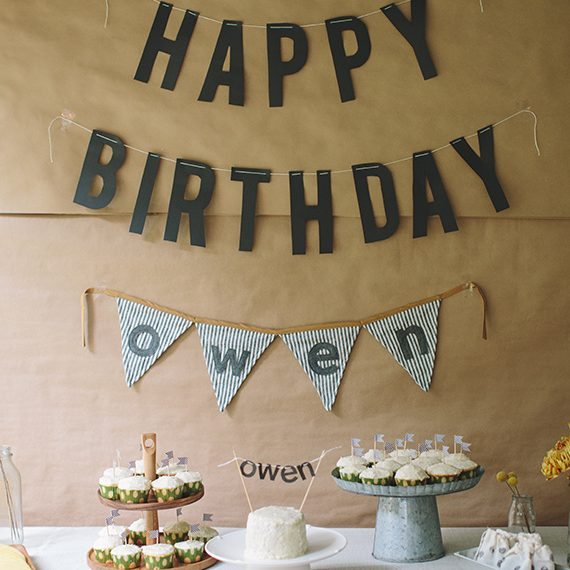 fun at home birthday party ideas ; Modern-Theme-e1485000999757