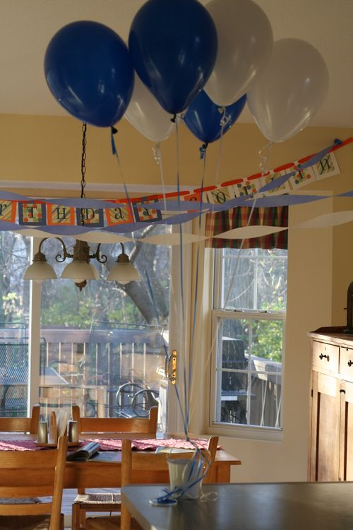 fun at home birthday party ideas ; simple-birthday-party-ideas