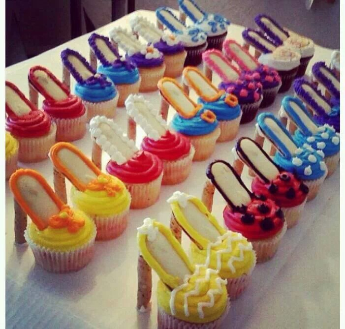 fun birthday cupcake ideas ; birthday-cup-cake-ideas-high-heel-cupcakes-oooh-la-la-recipe-birthdays-cake-and-food-download