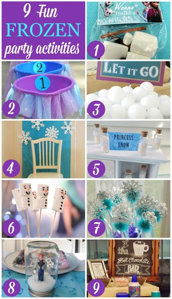 fun stuff for birthday parties ; fc7bd937f52c6d4cf3aaae61eb008e82--girl-birthday-frozen-birthday-party