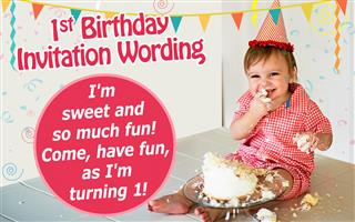funny 1st birthday invitation wording ideas ; 320-442545-510165000