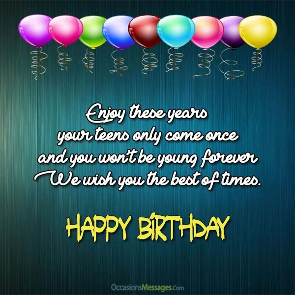 funny birthday card messages for teenagers ; Birthday-Wishes-for-Teenagers