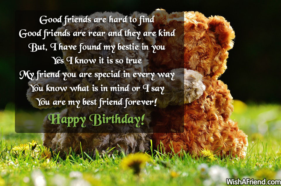 funny birthday wish for best friend forever ; 13299-best-friend-birthday-wishes