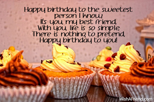 funny birthday wish for best friend forever ; 7785-best-friend-birthday-wishes