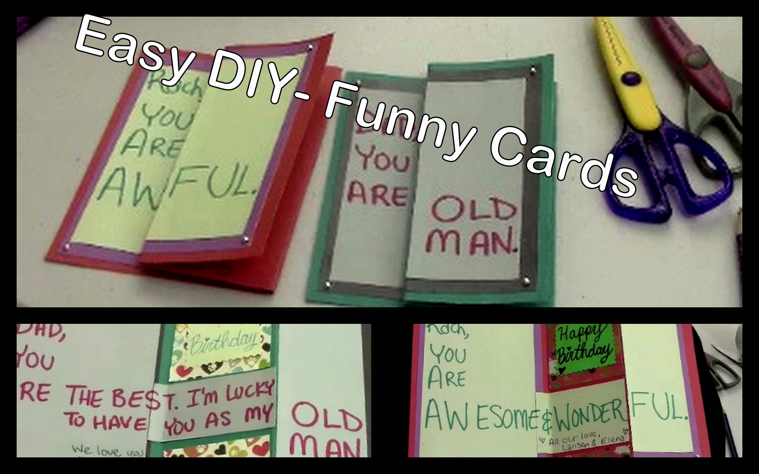 funny homemade birthday card ideas ; funny-homemade-birthday-cards-lovely-diy-funny-birthday-cards-for-friends-amp-family-of-funny-homemade-birthday-cards