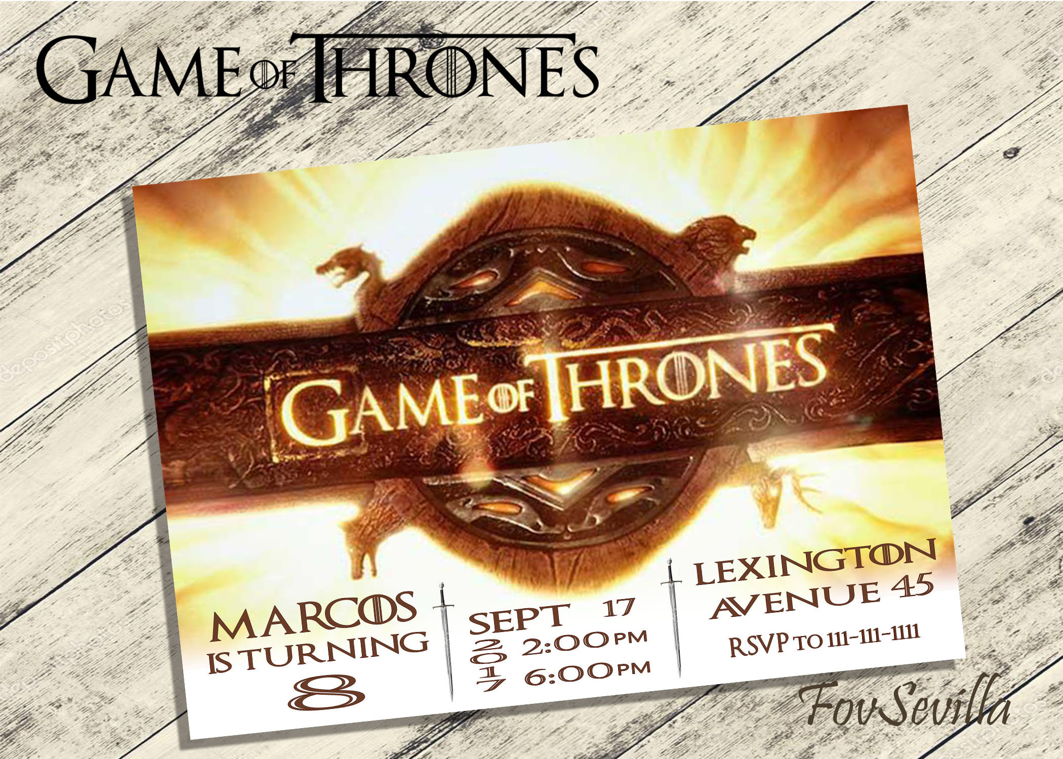 game of thrones birthday invitation ; free-printable-minion-birthday-party-invitations-game-of-thrones-invitationgame-of-thrones-birthday