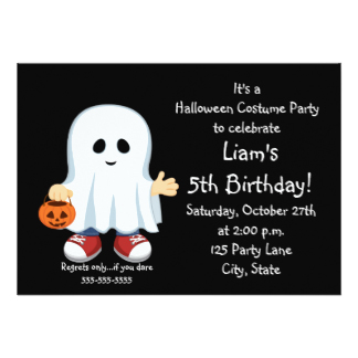 ghost birthday card ; halloween-ghost-invitation_ghosts-birthday-party-invitations-announcements-on-halloween-birthday-invitations-ideas