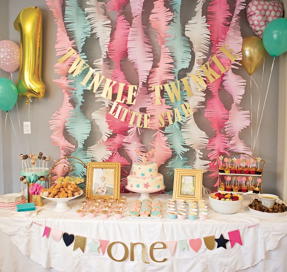 girls bday party ; Twinkle-little-star-girl-party