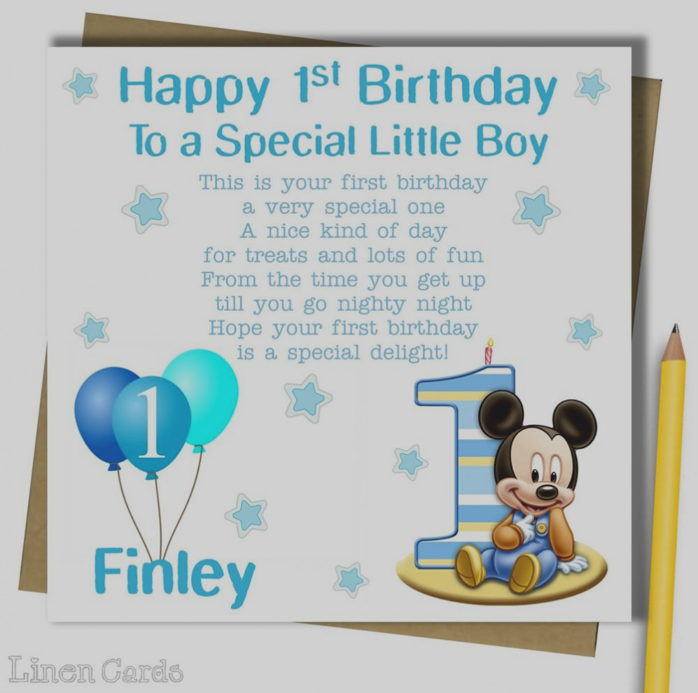 godson first birthday card ; collection-of-1st-birthday-card-boy-personalised-godson-son-grandson-nephew-1-first