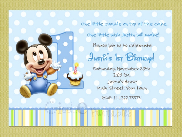 godson first birthday card ; mickey-mouse-first-birthday-card-elegant-baby-mickey-mouse-birthday-invitation-of-mickey-mouse-first-birthday-card