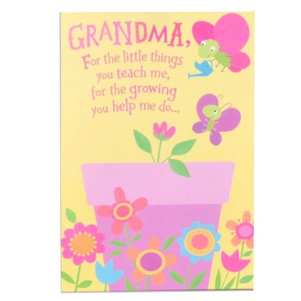 Grandma Birthday Card Sayings