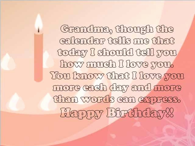 Grandma Birthday Card Sayings Grandmother Inspirational
