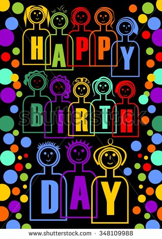 great happy birthday ; stock-vector-great-happy-birthday-party-billboard-happy-birthday-decoration-with-colorful-dolls-they-have-348109988