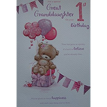 great niece 1st birthday card ; things-to-write-in-a-1st-birthday-card-fresh-great-niece-1st-1-today-happy-birthday-card-with-a-lovely-verse-of-things-to-write-in-a-1st-birthday-card