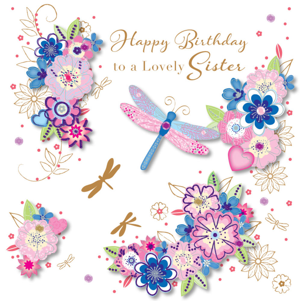 greeting cards for my sister birthday ; lrgscaleSDE30096_I