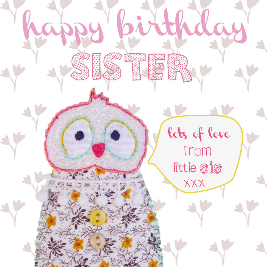 greeting cards for my sister birthday ; original_happy-birthday-sister-greeting-card