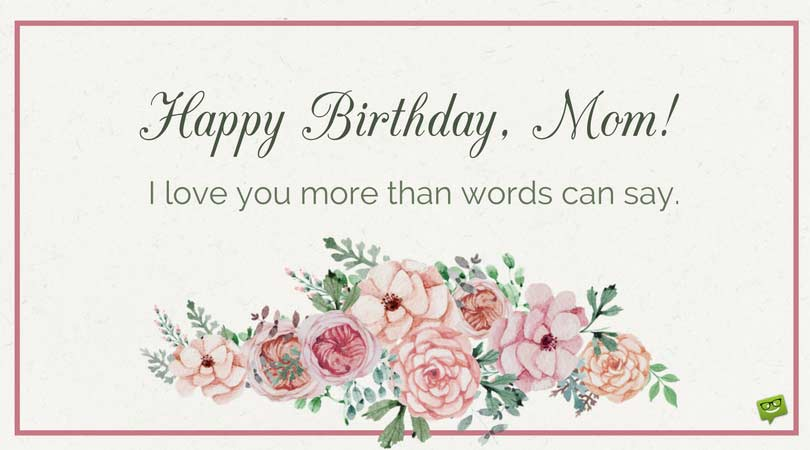 greeting words for birthday wishes ; Birthday-card-for-mom