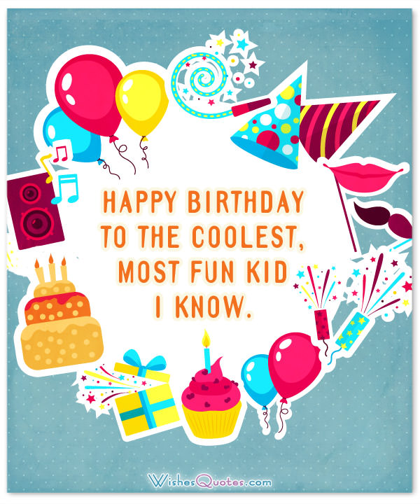 greeting words for birthday wishes ; Happy-Birthday-cool-kid