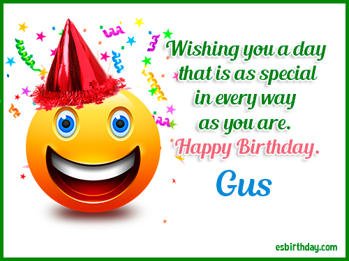 gus gus happy birthday ; Gus-Happy-Birthday-2